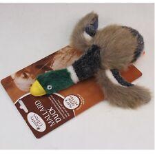 "9"" Premium Squeaky Quality Critters Mallard Duck Quack Pet Dog Toy Chew Play"