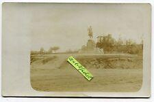 Foto als Postkarte um 1912: Deutsch-Südwest-Afrika, Reiter-Denkmal bei Windhuk