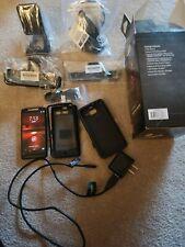 Motorola Droid RAZR M - 8GB - Black (Verizon) Smartphone plus extras