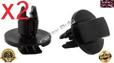 2pcs Push Type Fasteners/Rivets/Clips (51834606) for Fiat Punto Evo 2009>