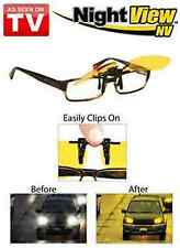 Night View CLIP ONS Glasses As Seen on TV Nightview Original 100% UVA UVB