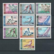 AJMAN - ARABIE DU SUD EST - 1965 YT 27 à 36 - TIMBRES NEUFS** MNH LUXE