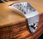 Ashton Bailey Cast Mandolin Tailpiece in Chrome from Morgan Monroe Part