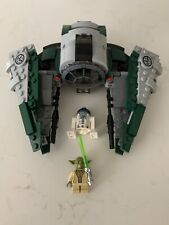 LEGO 75168 Yoda's Jedi Starfighter Assembled With Instruction Manual