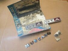 1967 Mustang Emblem Kit 67 Scott Drake GTA Ford Body Fender Letter