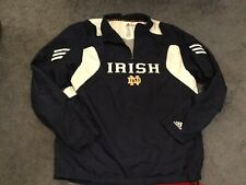 Adidas Scorch Climaproof Size L Notre Dame Irish Windbreaker jacket pullover
