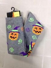 Halloween Sock  Knee sock Size 4 - 10 Cute (S-15)