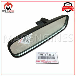 87810-52041 GENUINE OEM MIRROR ASSY, INNER REAR VIEW 8781052041
