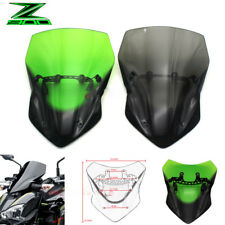 Motorcycle Windshield Wind Screen Headlight Cover For Kawasaki Z 900 Z900 2017