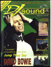 David Bowie - Rare Sound Magazine July 1993 Brazil