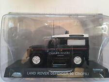 """DIE CAST """" LAND ROVER DEFENDER 90 CINOFILI """" SCALA 1/43 CARABINIERI"""