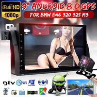 9 po Android 10.0 Autoradio DVR Navigation GPS Sat Nav WiFi Caméra For BMW E46
