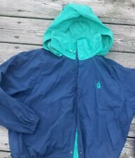 Vintage Nautica Jacket navy blue and green colorway size large