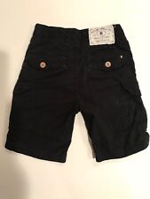 Lucky Brand Black Cargo Pants Crops Size 4 Toddler Kids