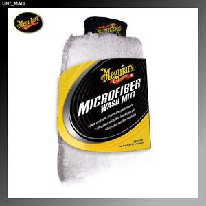 Meguiars New X3002  Microfiber Wash Mitt – Super-Thick Reusable Wash