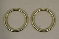 """O Ring - 1 1/2"""" - Solid Brass - Pack of 6 (F496)"""