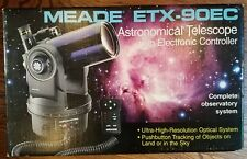 Meade ETX-90EC Astronomical Telescope with controller