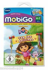 Lernspiel Vtech MobiGo Lernspiel Dora  Tag des Zwillings  4-7 Jahre NEU&OVP