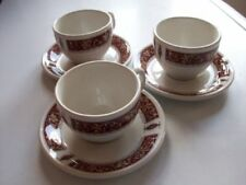 Cups & Saucers Gold Tableware Date-Lined Ceramics