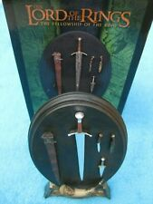 SIDESHOW WETA Herr der Ringe ARMS OF THE FELLOWSHIP Lord of the Rings LOTR RAR