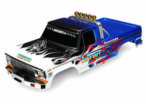 Traxxas TRA3653 Body, Bigfoot Flame, Officially Licensed Replica (Painted)