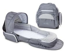 Baby Delight Snuggle Nest Traveler XL Infant Sleeper Portable Sleeping Bed Geo