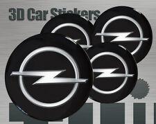 Aufkleber fur Radkappen Opel Logo Neu Imitation Mittelkappen 4 Stk 3D 50mm