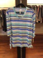 XL Lulu B Striped Tunic Retail $49