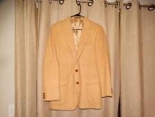 vintage AMERICAN CRAFTSMEN 40 42 tan mongolian camel hair blazer sport coat