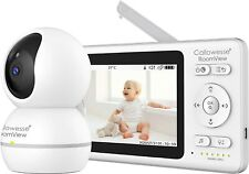 """Callowesse© RoomView Video Baby Monitor 4.3"""" LCD Screen, Digital Pan/Tilt & Zoom"""