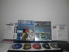 Ultimate Flight  IV PC Games  5 -Disc Big Box Set *Great Condition