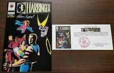 Harbinger (1992) #33 signed by Sean Chen with Notarized Witness of Signature