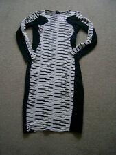 ASOS Black and White dress....size 16....V.G.C..
