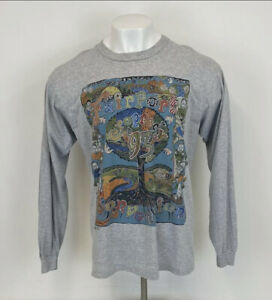 Vintage Fairport Convention Cropredy Festival 1993 Long Sleeve T Shirt Grey XL
