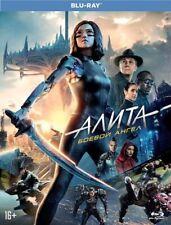 *NEW* Alita: Battle Angel (Blu-ray+Artbook, 2019) Eng,Rus,Hindi,Tamil,Telugu,Ukr
