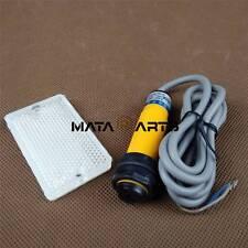 AC 90-250V Sensor Retroreflective Photoelectric Switch  Reflector NO E3F-R2Y1