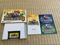 Gameboy Advance SuperMarioAdvance 4 with Box,Manual Gameboy Nintendo gba