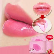 2pcs Sexy Collagen Lip Masks Kiss Lovely Lip Patch Face Plumper Fuller Lips Care