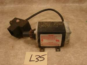 L35 USED ELECTRIC START STARTER 33329D FOR TECUMSEH ENGINE SNOWBLOWER WORKING