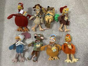 Chicken Run Soft Toy Bundle
