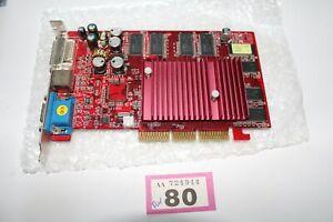 MSI NVIDIA GeForce FX5200 256MB DDR 8X VGA retro gaming windows 98 2000 xp DOS