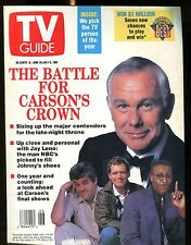 TV Guide Magazine June 29-July 5 1991 Johnny Carson EX No ML 122016jhe