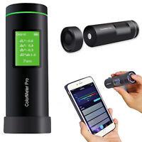 Intelligent Small Colorimeter Pro Color Meter Tester APP Auto Calibration 8mm