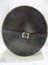 Vintage Dobbs Fifth Avenue New York Hat Box Leather Strap & Buckle (R6-2)