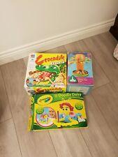Kids Childrens Games Bundle mb crocodile. Elc bees tree. crayola doodle daisy
