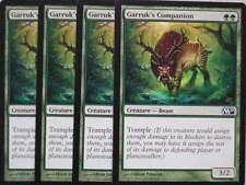 Xxx 4x Garruk 's Companion anglais Magic 2011 m11 (Beast reçois Green) NEARMINT