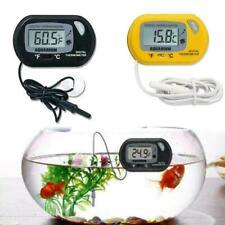 1Pc Lcd Digital Fish Tank Aquarium Water Meter Thermometer Temperature V8Z0 P7K0
