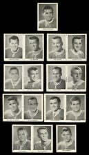 1954-55 MONTREAL CANADIENS MINI BOOK~COMPLETE HOCKEY CARD SET~ROCKET RICHARD +15