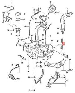 Genuine VW Golf R32 GTI Rabbit Variant 4Motion Jetta Fuel Tank 1K0201060HC