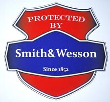 Smith & Wesson Protected by Decal ( BOGO )